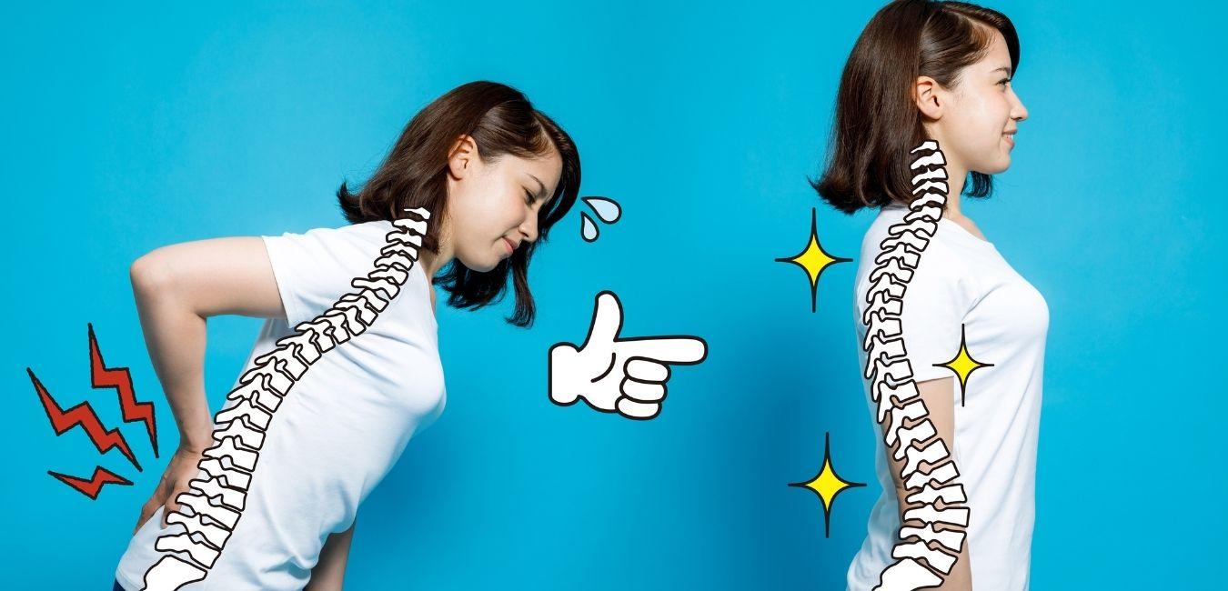 Vivir sin dolor de espalda es posible.                                Evítalo cuidando la postura en tus hábitos más comunes