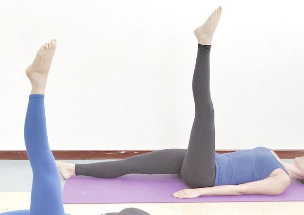 Serie original de Pilates: The one leg circle