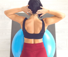 6 ejercicios de Pilates para fortalecer la musculatura dorsal.