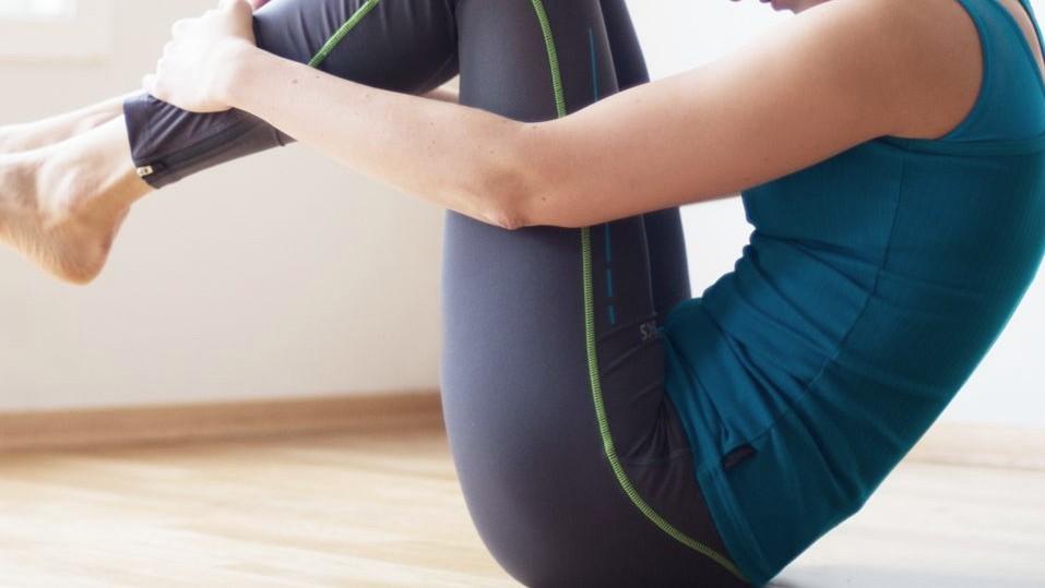Serie original de Pilates: Rolling back