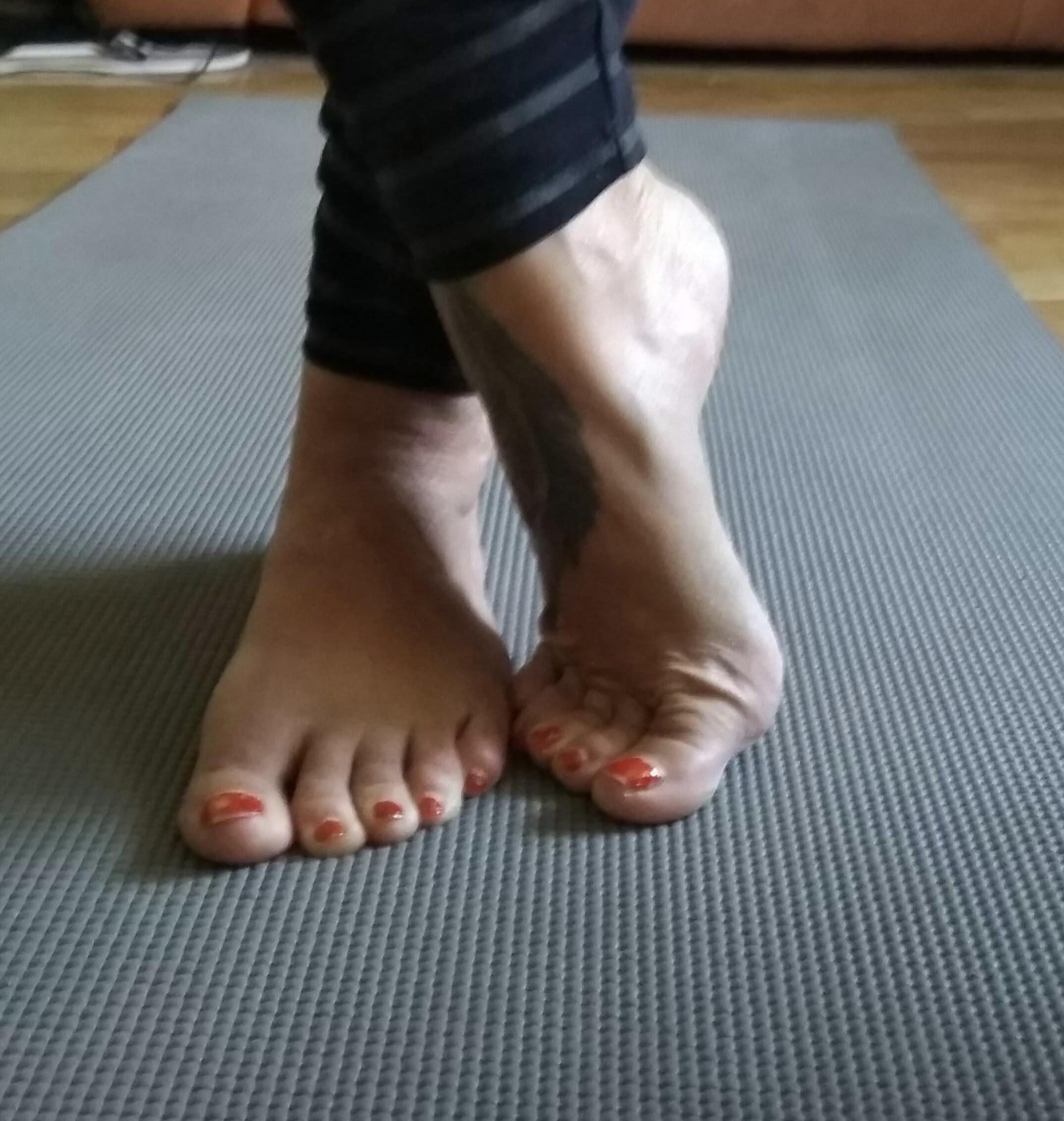 ¿Cuándo  te apuntaste a Pilates… pensaste en tus pies?